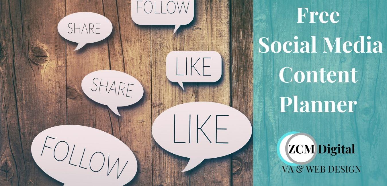 Social media content planner